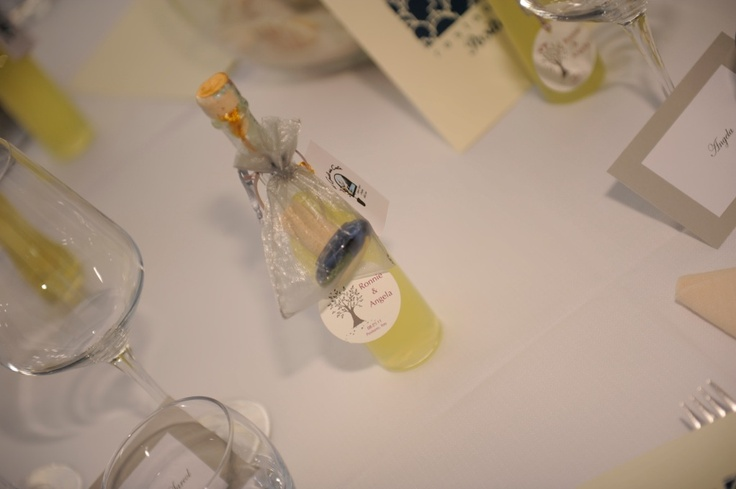 Personalized Limoncello bottles | Italian Wedding Favours ...