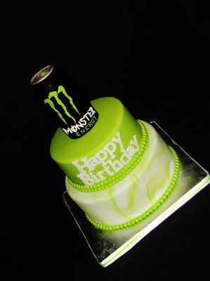 Monster Energy Drink Cake  Exclusive Cakes By Tessa Yelp