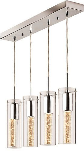 4 pendant light fixture bronze the 4pendant light will add modern touch to your kitchen dining room or bedroom cylinder glass tubes have decorative champagneu2026