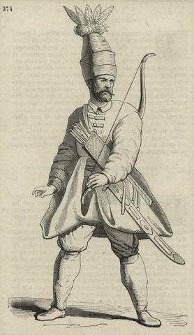 Archer, bodyguard of sultan