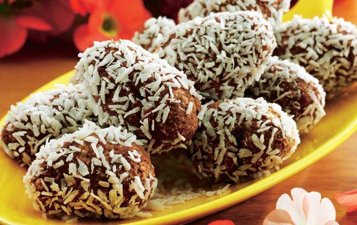 Med et tvist af chokolade, appelsin og kokos.