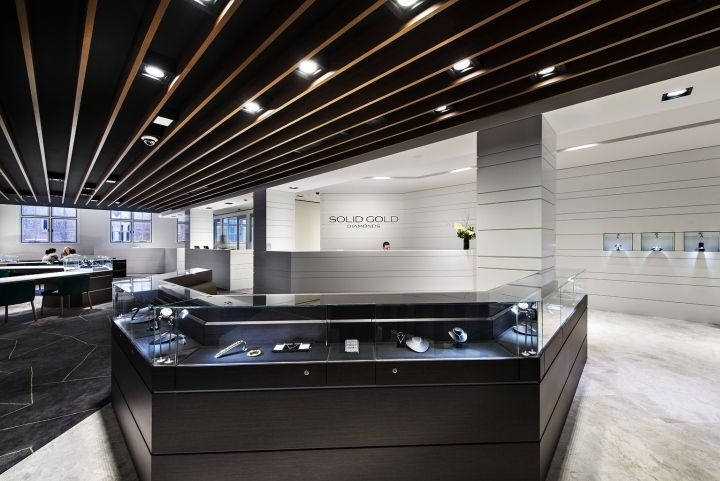 Solid Gold Diamonds showroom by Studio Ginger, Perth   Australia store design