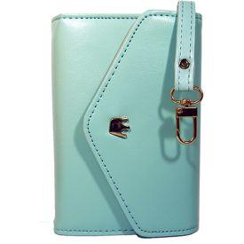 Sky Blue PU Leather Wallet Case  / www.nunuco.fi