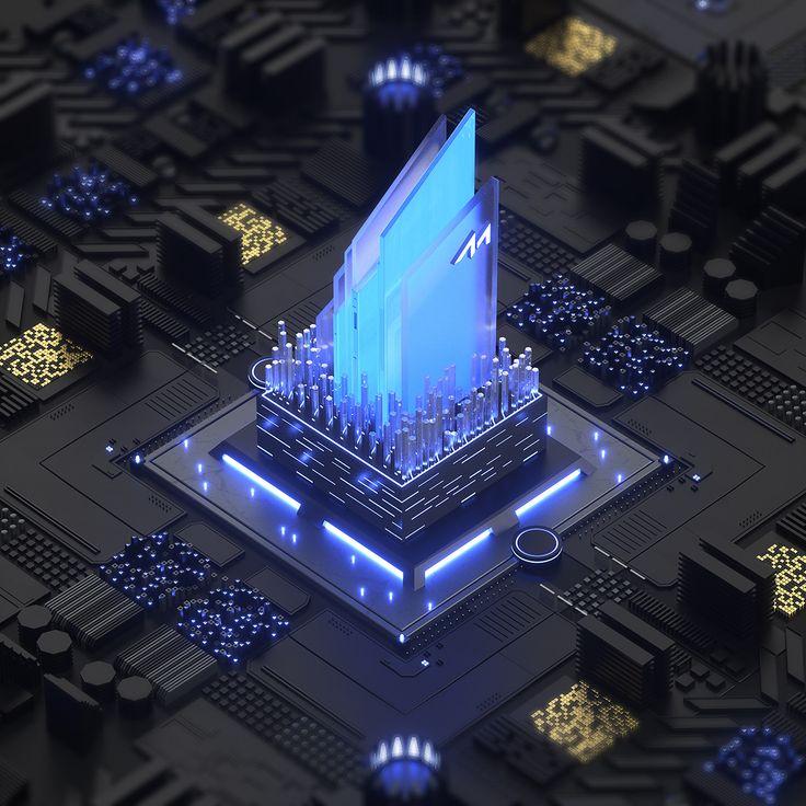 Meizhi Technology Branding & Website on Behance