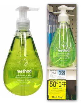 Method Hand Soap $1 off Coupon + Target and Rite Aid Deals