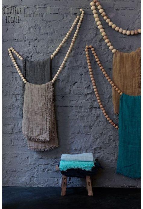 8 Ideen für das Verbasteln von Holzperlen wie zum Beispiel Hängelampen, Untersetzer oder Handtuchhalter.
