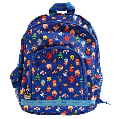 Back to school with the Looney Tunes backpack.