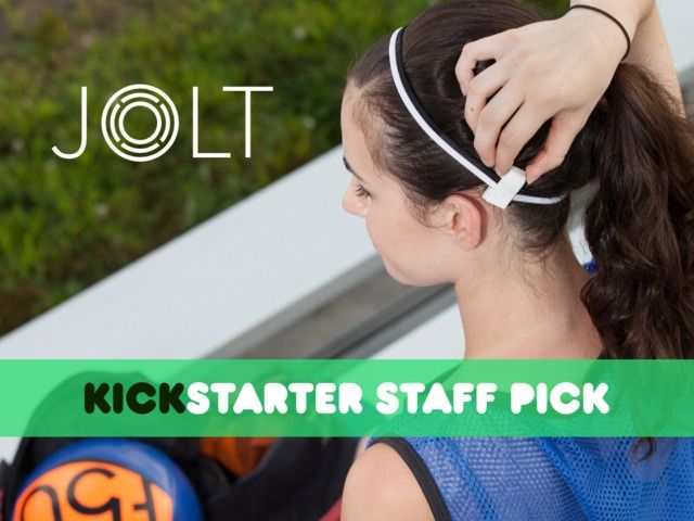 Jolt is a wearable sensor that allows parents and coaches to track and evaluate their children's head impacts in real-time.