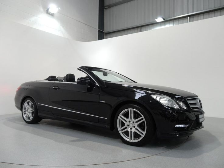 Mercedes Benz E220cdi BlueEfficiency AMG Sport Convertible Finished in Obsidian Black with Black Artico Leather Interior and Brushed Aluminium Interior Trim. For more spec and images: http://www.simonjamescars.co.uk/mercedes-e220-cdi-amg-sport-in-derbyshire-3656403