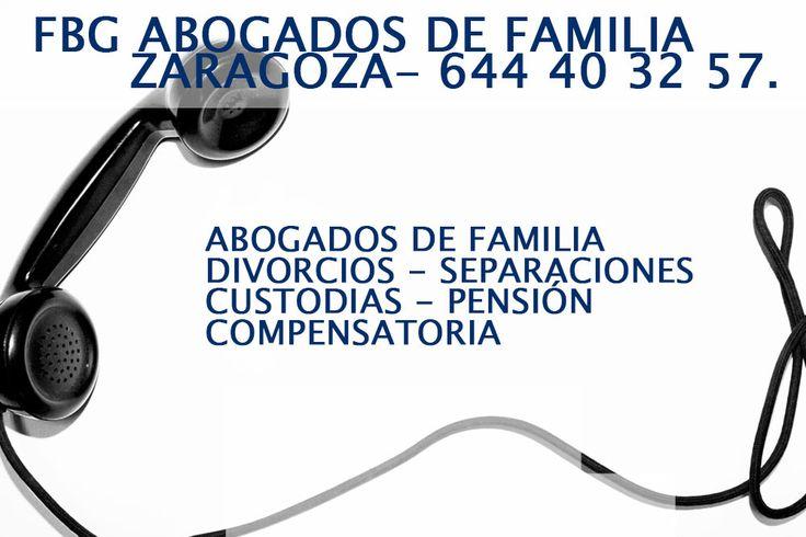 Abogados de familia en Zaragoza Divorcios Separaciones Custodia Pensiones
