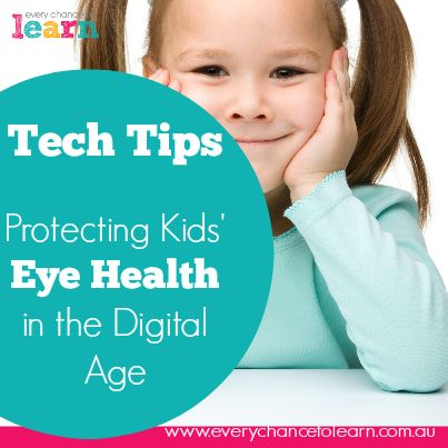 Protecting kids' eye health in a digital age