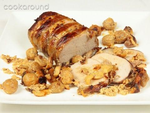 Arrosto di maiale con castagne: Ricetta Tipica Piemonte - SECONDI DI CARNE