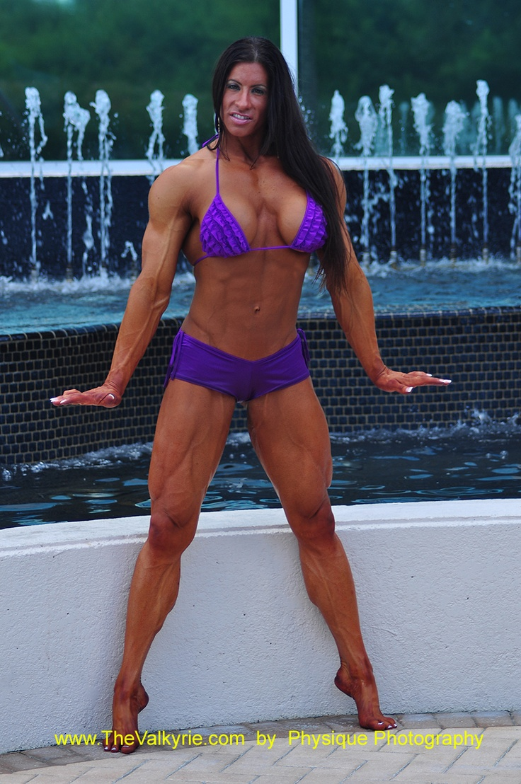 Angela salvagno posing and flexing - 4 1