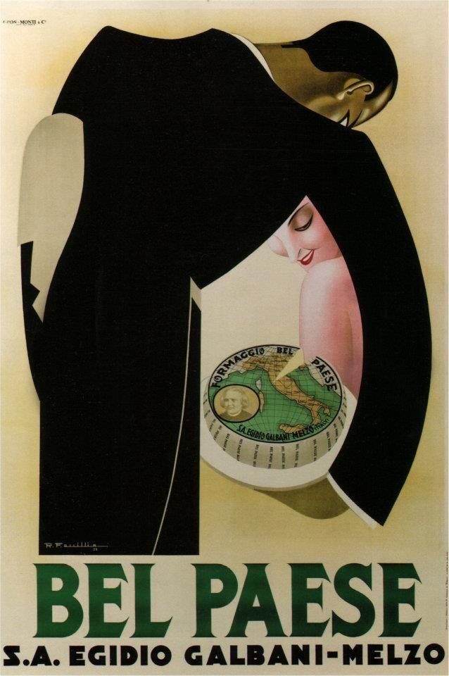 Bel Paese (cheese), R.F. Quillio, 1932