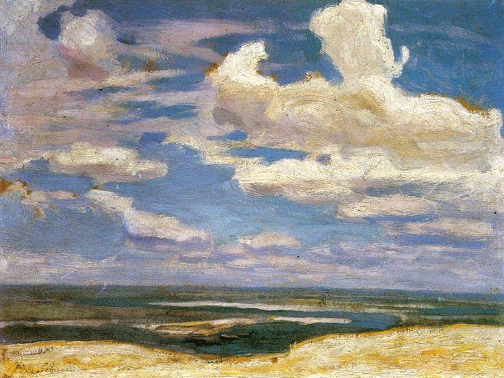 Jan Stanisławski - Chmury nad Dnieprem