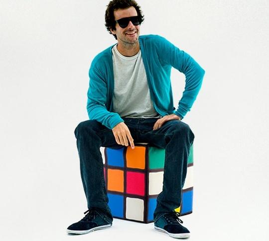 Puf Rubik Desarmado
