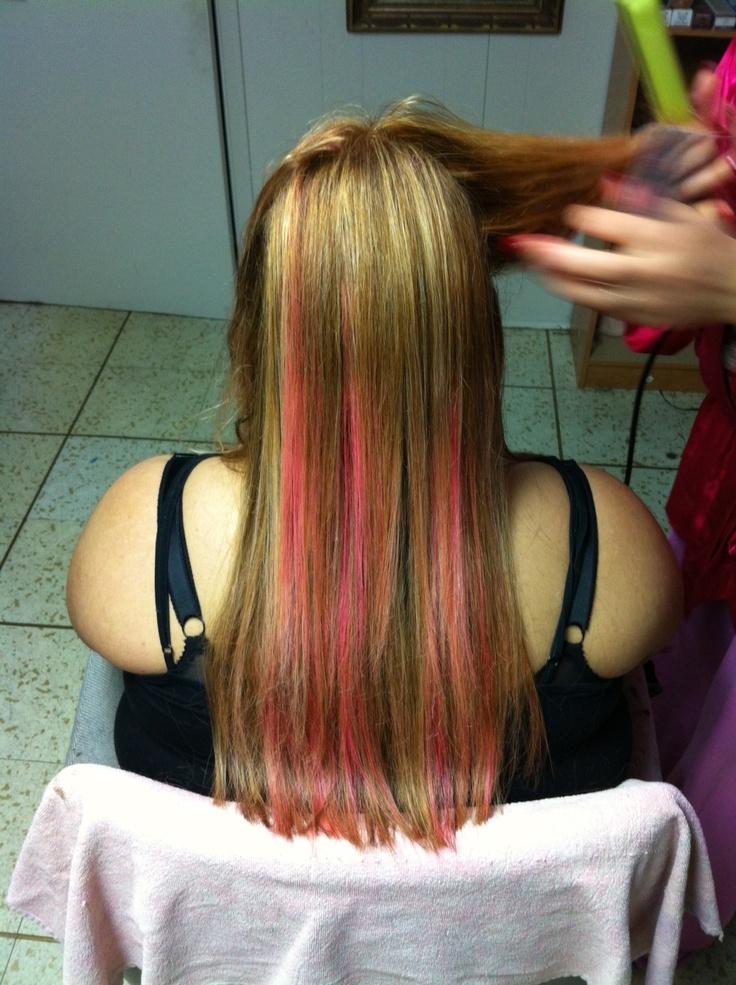pink peekaboos.