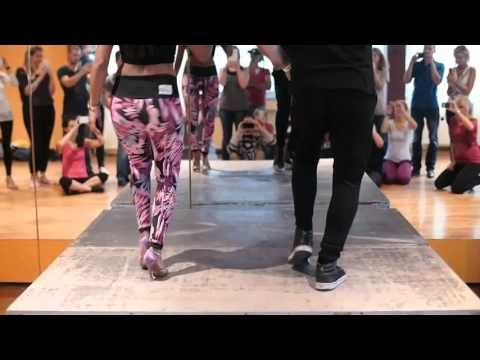 BACHATA FOOTWORK PASOS BASICOS CON TRIPLE STEP