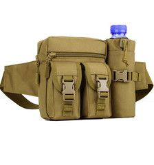 ★ Military ★ Outdoor Waist Bag With Bottle Pack LIMITED TIME ONLY! NOT SOLD IN STORESPlease allow 2-4 weeks for delivery Material: Oxford FabricSize: 15x6x17cm(Main bag),8x17cm(Bottle bag)Features:Strong oxford fabric, water-resistant, wearproof and durable for use.Belt length can be adjustable according to your own figure.Strong zipper and buckle design, safer and well protective.Multi functions and pockets, convenient for holding your belongings.