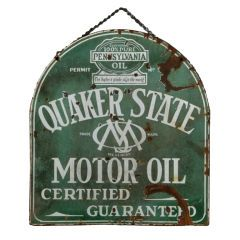 107 best oil cans signs images on pinterest vintage for Quaker state motor oil history