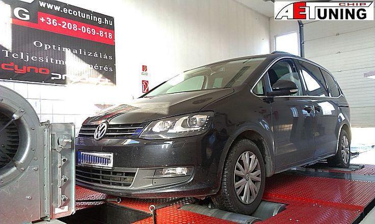 Volkswagen Sharan 2.0TDI 140LE DSG váltóval. Optimalizált fékpadi beállítás   Gyári adatok: 140LE/320NM Teljesítménymérő fékpadon mért adatok: 138LE/328NM A DSG váltót is figyelembe vevő OPTimalizált finomhangolás : 168LE/381NM  http://ecotuning.hu/volkswagen-sharan-2-0tdi-140le-dsg-valtoval-optimalizalt-fekpadi-beallitas/  #aetchip #aet #aetchiptuning #chiptuningtat #dyno #dynoproject #performance #autochip #tuning #optimalizalas #dsg #volkswagensharan #tdi #dizeltuning