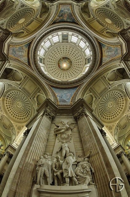 architecturia:  Panthéon, Paris, Fra lovely art