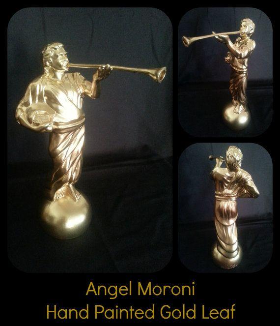 Angel Moroni Statue by InspiredPorcelain on Etsy, $79.99