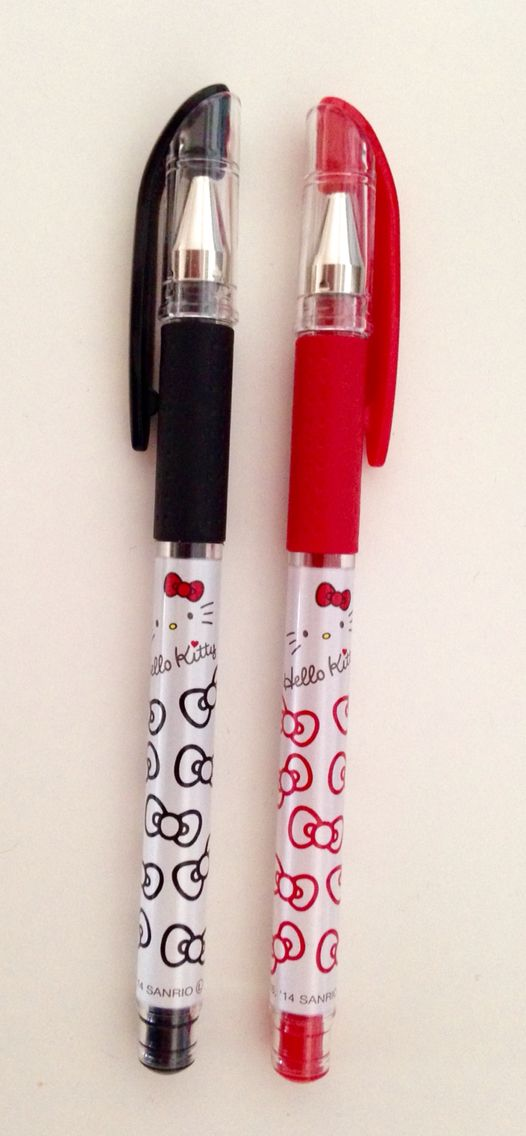 Hello kitty pens!