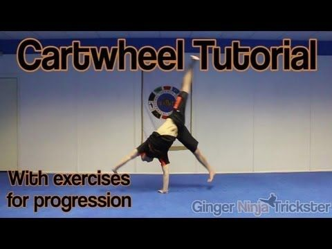 Cartwheel Tutorial for Beginners and Up