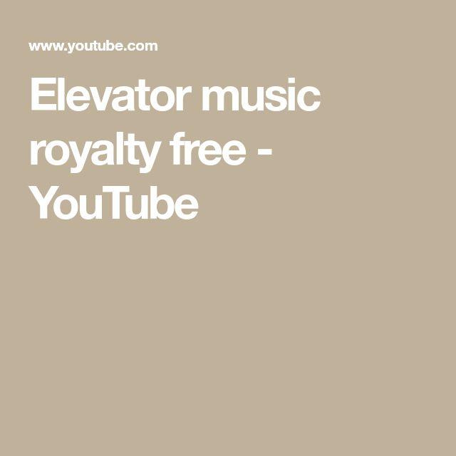 Elevator music royalty free - YouTube
