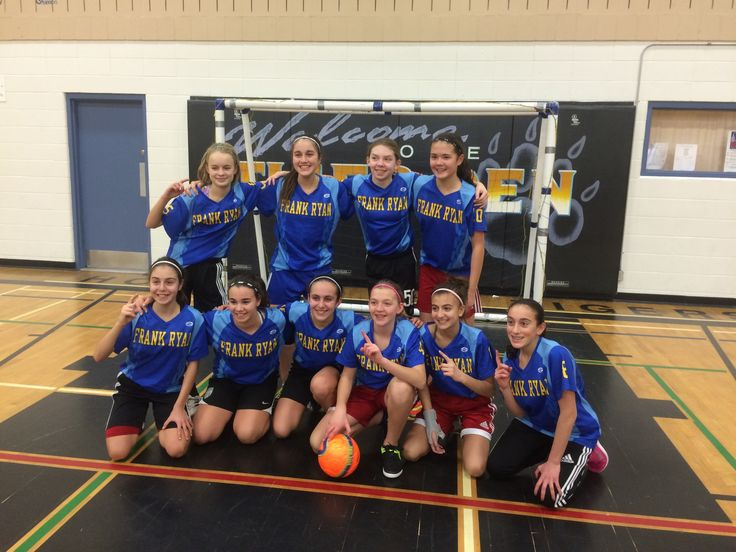 A shout out to the Frank Ryan girl's futsal team.  East Tournament Champs!