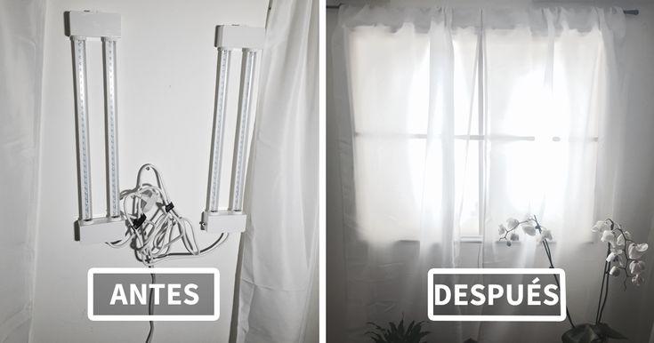 ¿Para qué necesitas una ventana falsa? Pues por ejemplo si vives en un piso que recibe muy poca luz, o en un sótano...