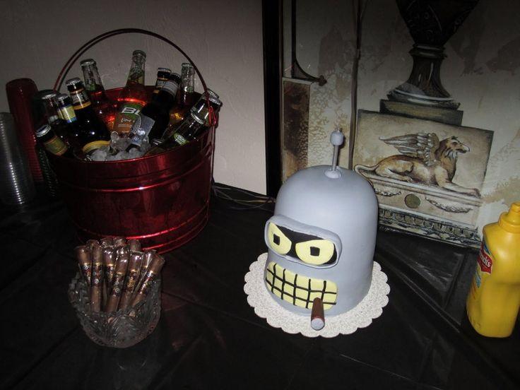 Futurama cake — Birthday Cakes