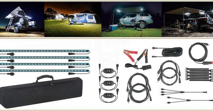 El kit LED imprescindible en tu campamento! $65.900 (stock limitado) #orcchile #overland #camping #offroad