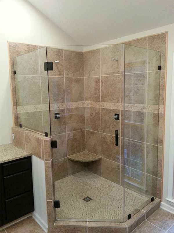 11 Best Images About Frameless Shower Doors And Enclosures On Pinterest Corner