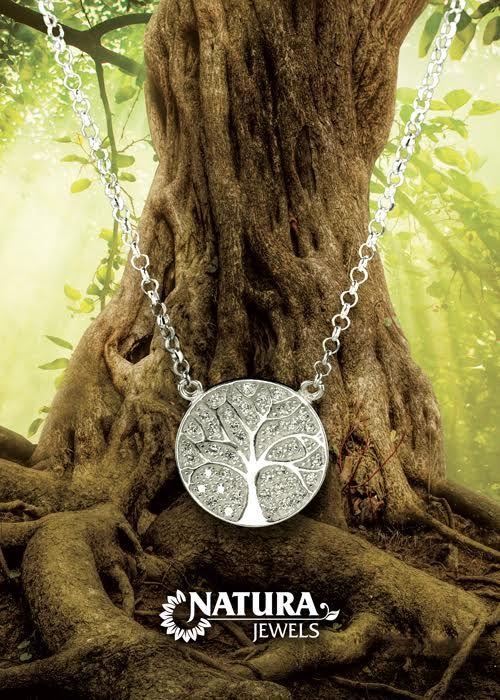 Mandala se zircony - strom zivota  www.naturajewels.cz