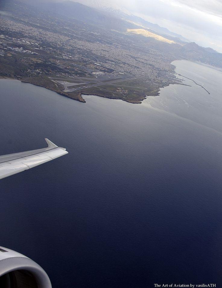 AEGEAN Takeoff from Heraklion Crete