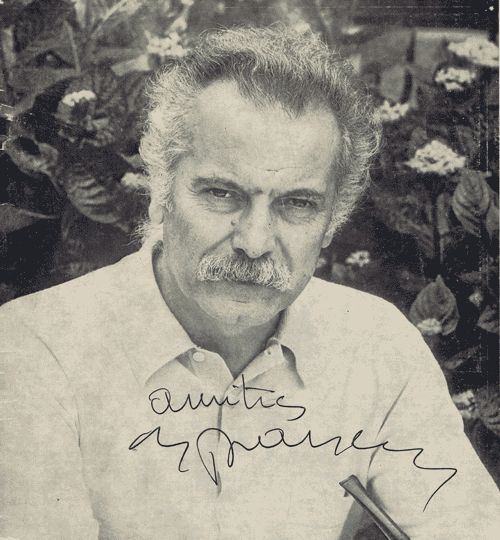 Autographe de Georges Brassens