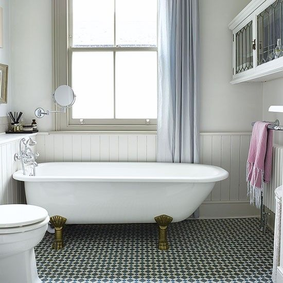 Bathroom | Period house in southeast London | House tour | 25 Beautiful Homes | Housetohome.co.uk