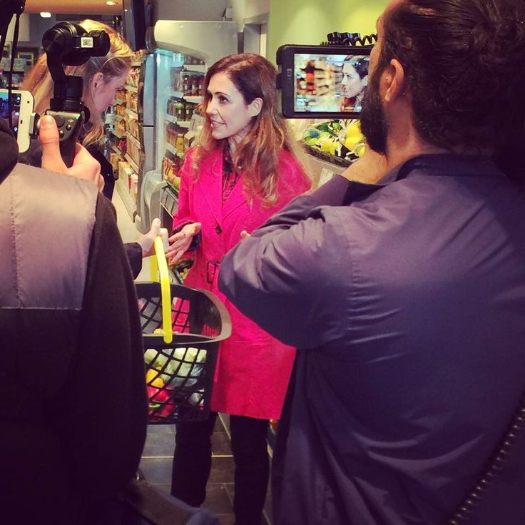 Shooting for RTL in Cologne - Interview + sugarfree food shopping