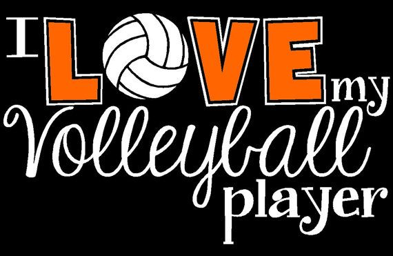 Our Original Design - I love my Volleyball Player by The Walnut Street House Volleyball Mom Shirt Volleyball Sister Grandma, Volleyball Team...