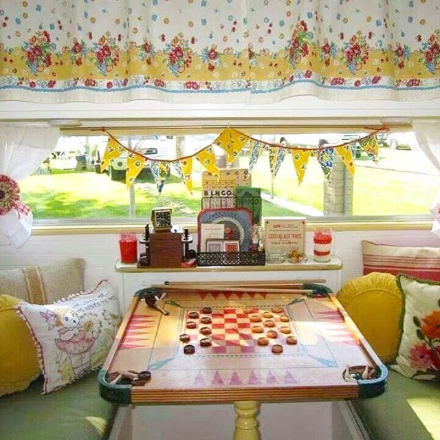 Best Vintage Trailers Images On Pinterest Glamping - Old shabby trailer gets one hell makeover