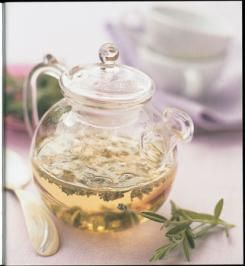 Learn which herbs to grow to make your own herbal teas. Also how to dry and store them.
