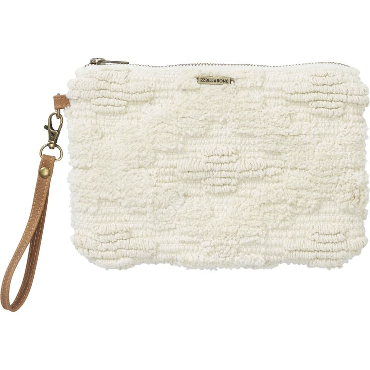 Hold on to life's simple treasures. Made to carry just the essentials, the Salty Water clutch features a textured fabric construction, zippered closure ...