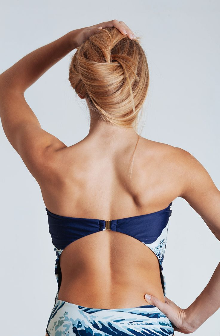#summer #blue #swimwear #fashion #waves