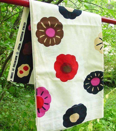 Marimekko Nekku  Curtains Design Katsuji Wakisaka 1973