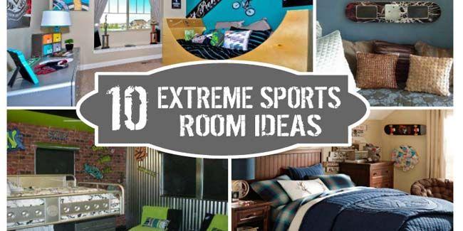 14 best images about skateboarding room on pinterest for Bmx bedroom ideas