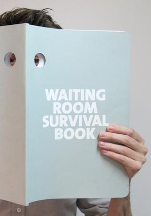 Waiting Room Survival by Philip Luschen @Design Academy Eindhoven
