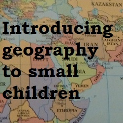 Jennifer's Little World: Introducing maps to young children