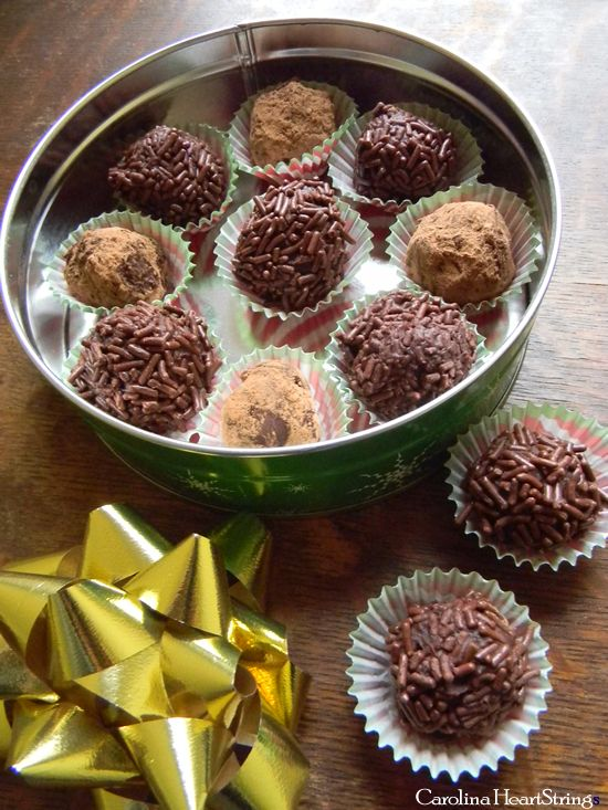 Bailey's Chocolate Truffles from Cooking with Nonna